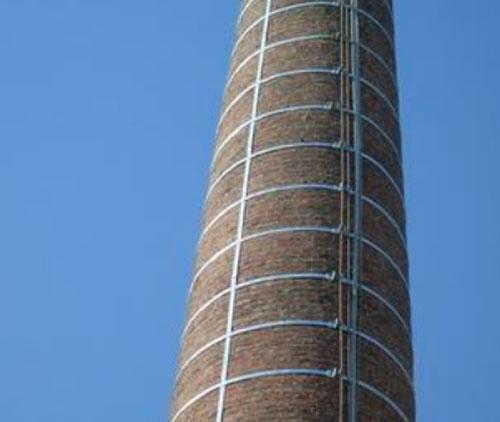 砖烟囱加固加箍